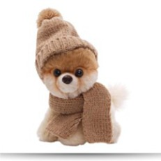 5 Itty Bitty Boo In Knit Scarf And Cap