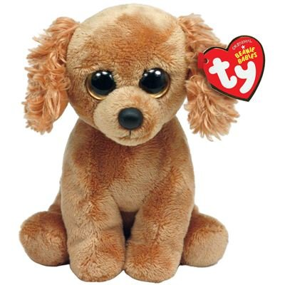 d3f8ceba196 Compare - Rowdy - Dog With Scarf vs Beanie Baby Copper Plush
