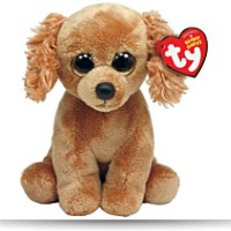 Beanie Baby Copper Plush