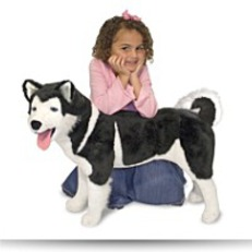 Save Melissa And Doug Deluxe Husky Plush