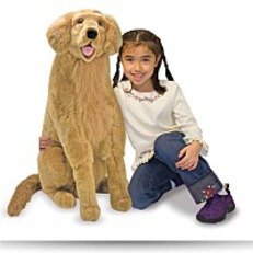 Save Melissa And Doug Golden Retriever Plush