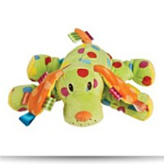 Save Plush Colours Spotty Dog