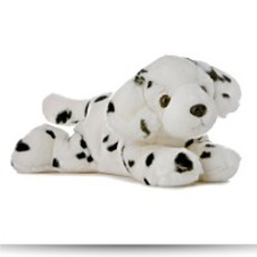 Buy Plush Domino Dog Flopsie