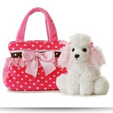 Buy Plush Fancy Pals Pet Carrier Fancy Pink