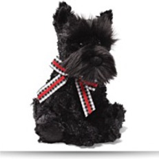Buy Scotty Black Scottie Dog 8 Plush