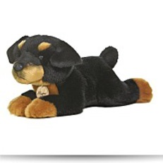 World Miyoni 11 Inches Rottweiler Dog