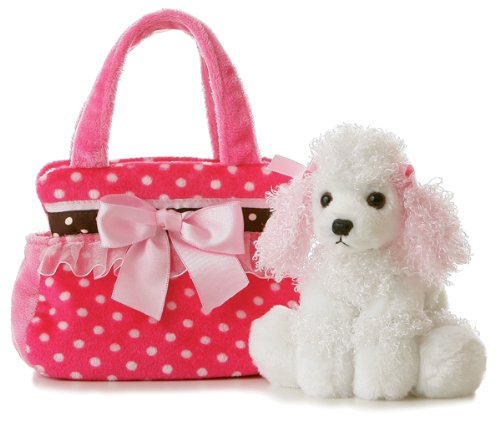 Plush Fancy Pals Pet Carrier Fancy Pink