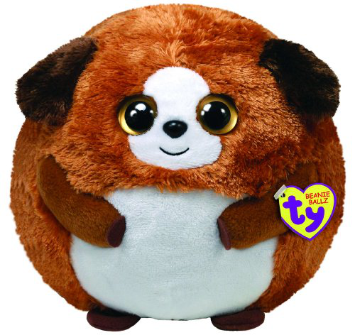 Ty Beanie Ballz Bandit The Dog (medium)