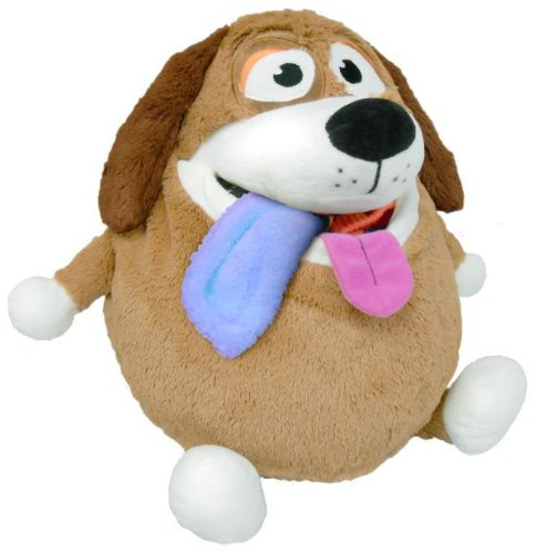 Tan Dog Plush Toy
